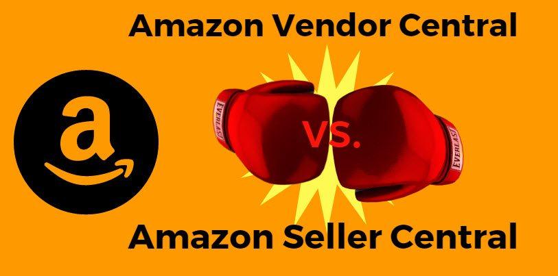 Amazon vendor centeral vs amazon central
