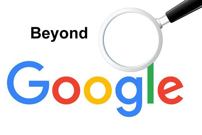 Beyond Google search