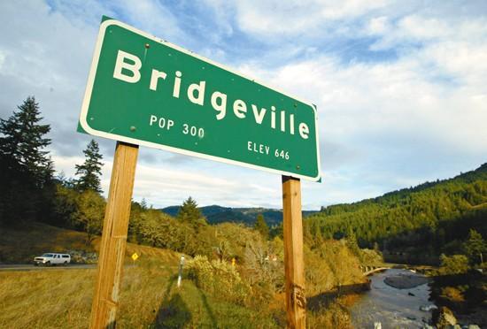 Sale for the Californian town- Bridgeville