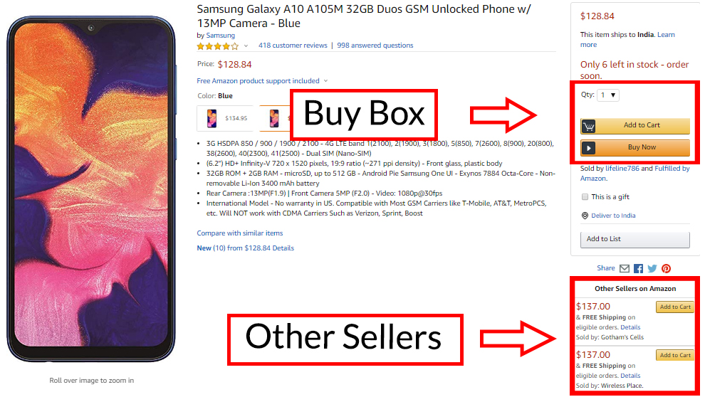 What is Amazon buy box