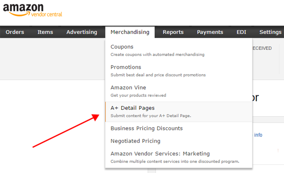 How to upload Amazon A+ Content